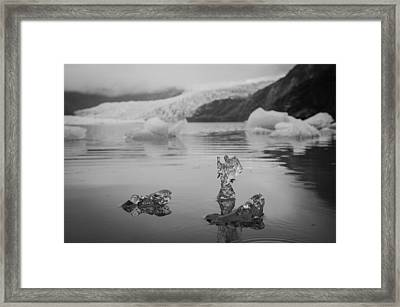 Ice Angel Framed Print