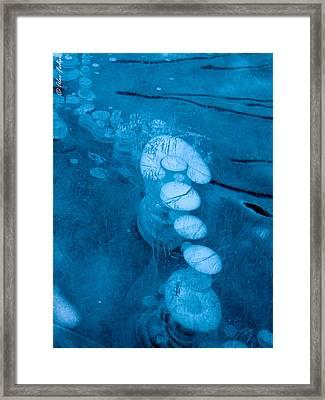 Ice Arrow Framed Print