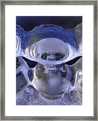 Ice Bowls Framed Print
