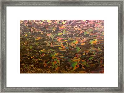 Ice Camo Framed Print