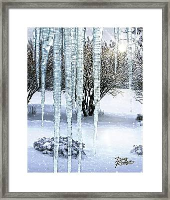 Ice Capades Framed Print by Doug Kreuger