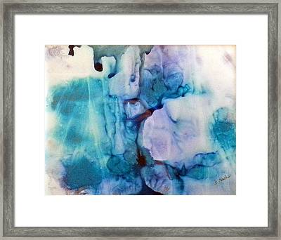 Ice Castles Framed Print by Susan Kubes