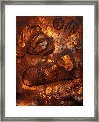 Ice Chocolate Framed Print