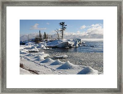 Framed Print featuring the photograph Ice Cold by Sandra Updyke