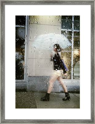 Ice Cold Strut Framed Print by Empty Wall