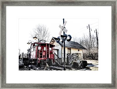 Ice Cream Junction Framed Print by Bill Cannon
