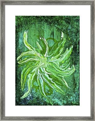 Framed Print featuring the painting Ice Cream Fairy by Tracey Myers