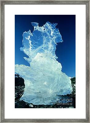 Ice Formation Framed Print by Art Wolfe