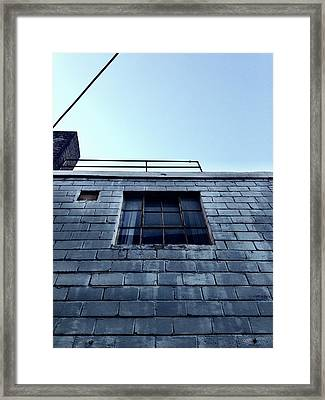Ice Fortress Framed Print