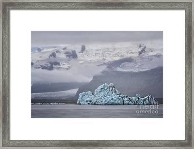 Ice Guardian Framed Print by Evelina Kremsdorf
