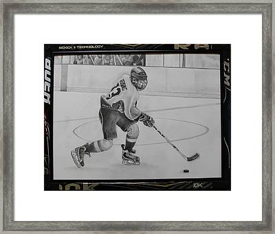 Ice Hockey Framed Print by Gary Reising