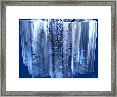 Ice Framed Print by John Pangia