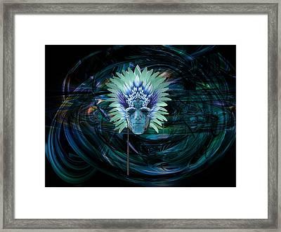 Ice King Framed Print
