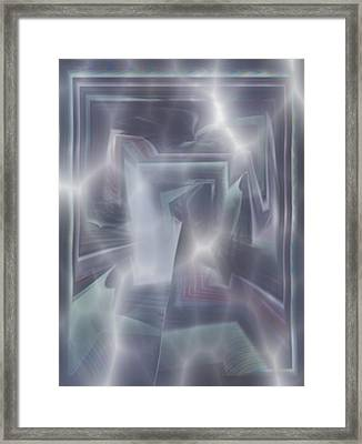 Ice Framed Print by Klaas Hartz