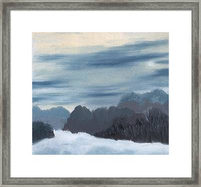 Ice Morning Framed Print by Marco Sivieri