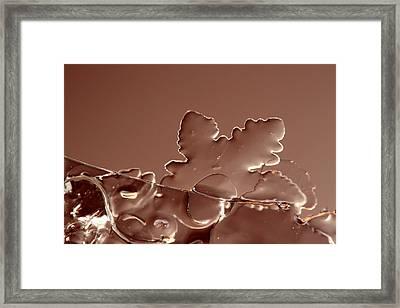 Ice No.016 Framed Print by Kolomija