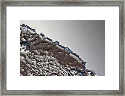 Ice No.018 Framed Print by Kolomija