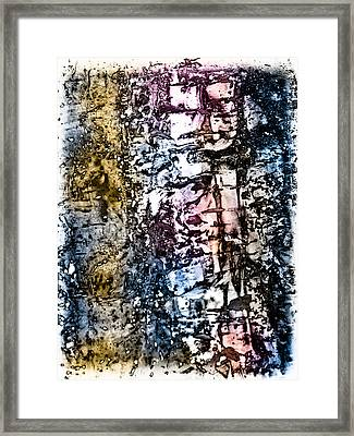 Ice Number Five Framed Print by Bob Orsillo