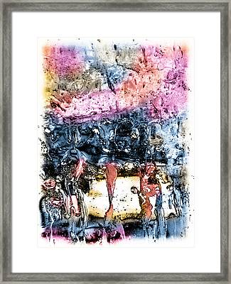 Ice Number Four Framed Print by Bob Orsillo