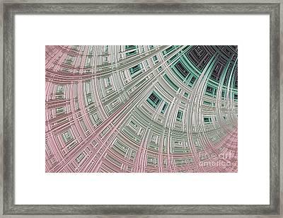 Ice Palace Framed Print