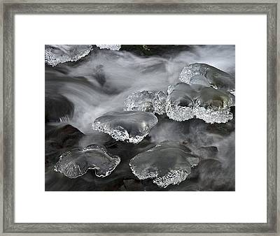 Ice Pillows Framed Print