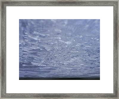 Ice Planet Framed Print by Jaime Neo