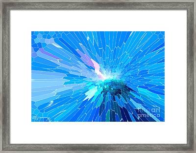 Ice Queen Framed Print by Mariarosa Rockefeller