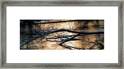 Ice Reflection  Leif Sohlman Framed Print
