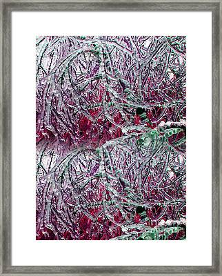 Ice Sculpture 2013 Framed Print by Laurie Wilcox