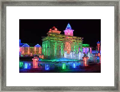 Ice Sculptures Framed Print by Brett Geyer