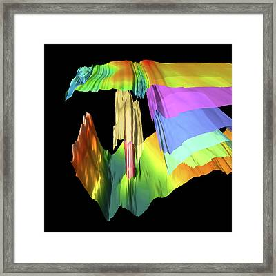 Ice Sheet Structure Framed Print by Ed King/pete Bucktrout, British Antarctic Survey