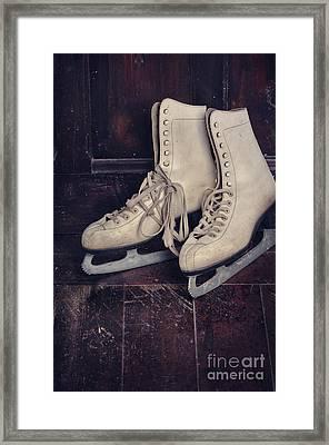 Ice Skates Framed Print by Jelena Jovanovic