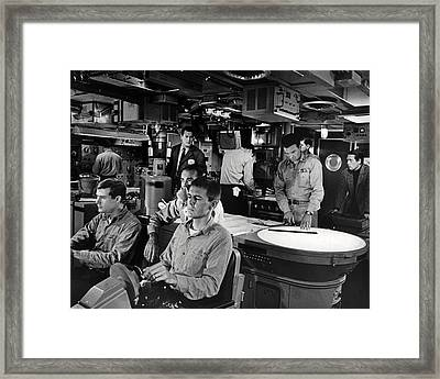 Ice Station Zebra  Framed Print by Silver Screen