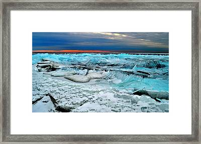 Ice Storm # 14 - Kingston - Canada Framed Print