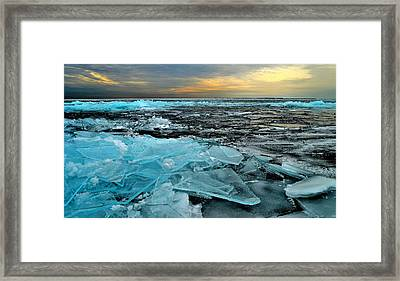 Ice Storm # 6 - Battery Bay - Kingston - Canada Framed Print