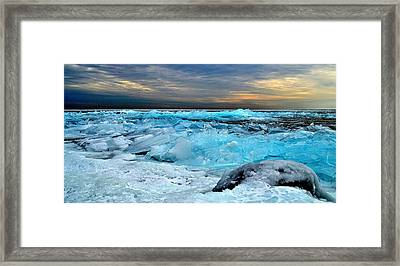 Ice Storm #15 - Kingston - Canada Framed Print