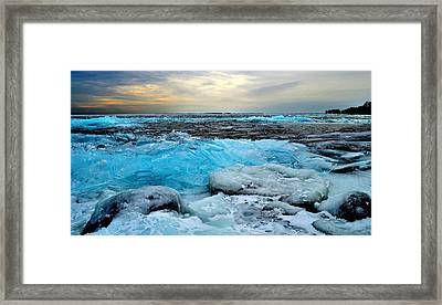 Ice Storm 16 - Kingston - Canada Framed Print