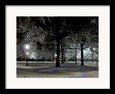 Keeneland Digital Art Framed Prints