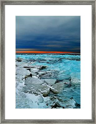 Ice Storm # 7 - Battery Bay - Kingston - Canada Framed Print