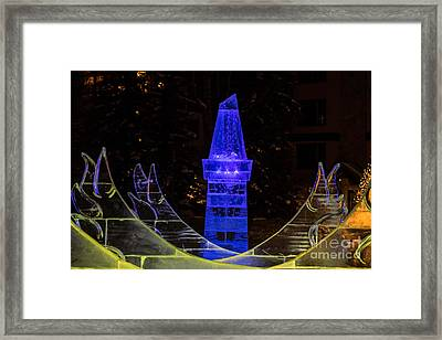 Ice Tower Framed Print