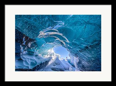 Glaciers Framed Prints