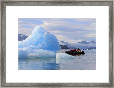 Iceberg Ahead Framed Print by Shoal Hollingsworth