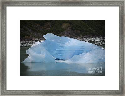 Iceberg At Tracy Arm Fjord Juneau Alaska Framed Print by JRP Photography