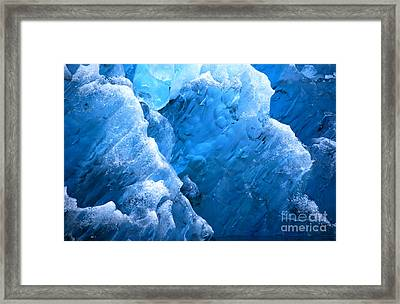 Iceberg Blues Framed Print