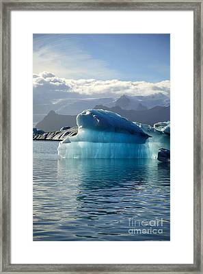 Iceberg Framed Print by Deborah Benbrook
