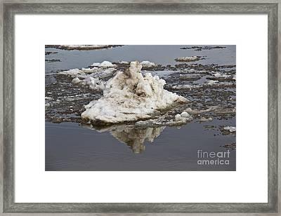Iceberg Mini Framed Print