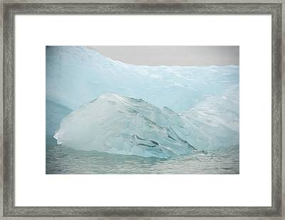 Iceberg, Norway Framed Print by Science Photo Library
