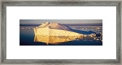 Iceberg, Ross Sea, Antarctica Framed Print by Panoramic Images