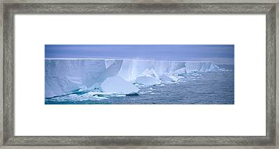 Iceberg, Ross Shelf, Antarctica Framed Print by Panoramic Images