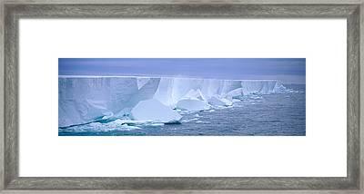 Iceberg, Ross Shelf, Antarctica Framed Print
